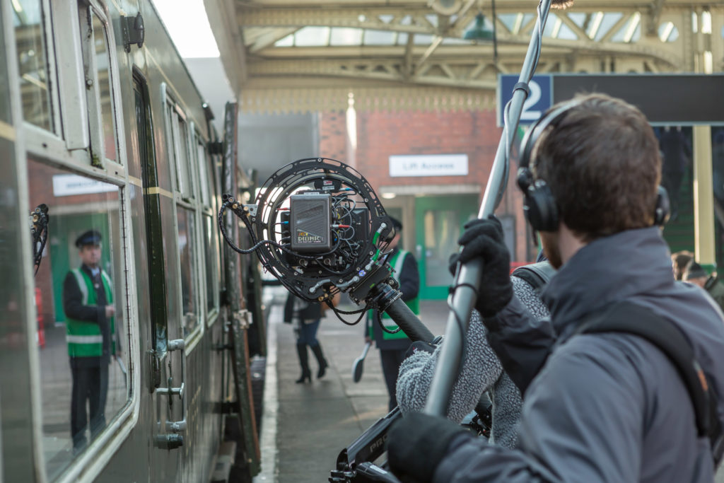 Happy Hour Productions train station locatoin filming for QuickQuid